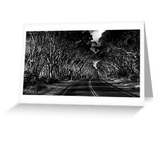 The road to somewhere Greeting Card