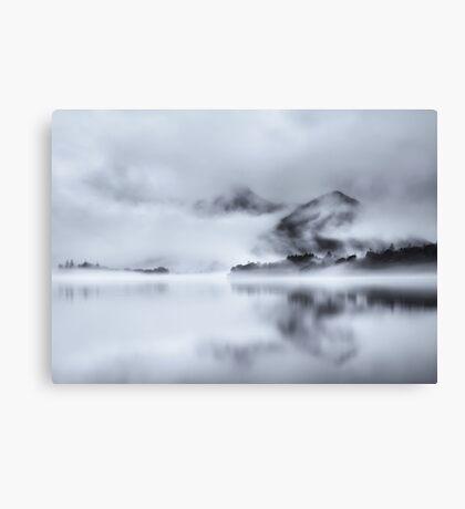 Cat Bells Through the Mist Canvas Print