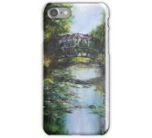 The Bridge at Giverny iPhone Case/Skin