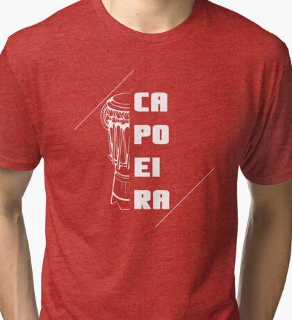 Atabaque Capoeira Tri-blend T-Shirt