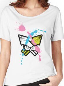 Splatoon - Turf Wars 5 [WHITE VAR] Women's Relaxed Fit T-Shirt