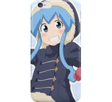 Squid Girl Snowball Fight! iPhone Case/Skin