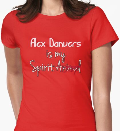 Alex Danvers is my Spirit Gay Womens Fitted T-Shirt