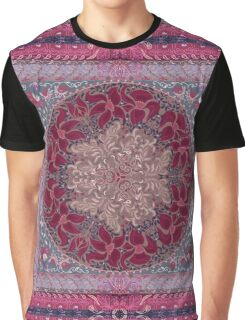 Floral elements mandala. Circular pattern of traditional motifs and vintage oriental ornaments Graphic T-Shirt
