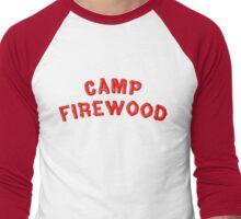80's Summer Camp Firewood Men's Baseball ¾ T-Shirt