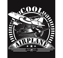 Cool Airplane Plane Aircraft Flying Photographic Print