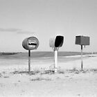 roadside letter boxes (Robe-Kingston Road) by Janine Paris