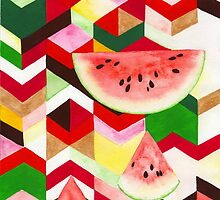 Watermelon by KatHassell