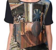 Abandoned Shunter Chiffon Top