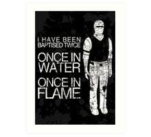 Fallout: Joshua Graham Art Print