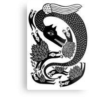 And the dragon Metal Print