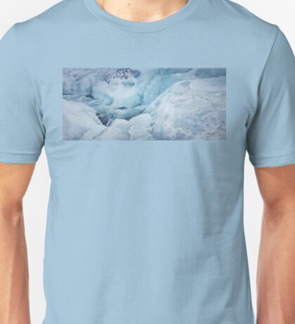 frozen river Unisex T-Shirt