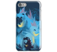 totodile, croconaw and feraligart evolutions cool design iPhone Case/Skin