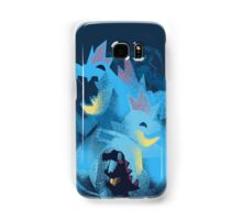 totodile, croconaw and feraligart evolutions cool design Samsung Galaxy Case/Skin