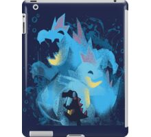totodile, croconaw and feraligart evolutions cool design iPad Case/Skin