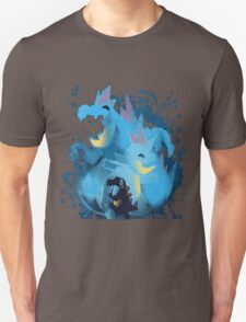 totodile, croconaw and feraligart evolutions cool design Unisex T-Shirt