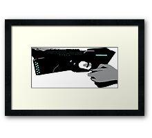 The Dominator Gun from Psycho Pass Framed Print