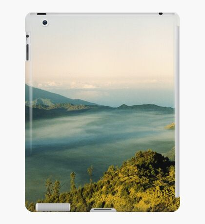 Tranquil traveling iPad Case/Skin