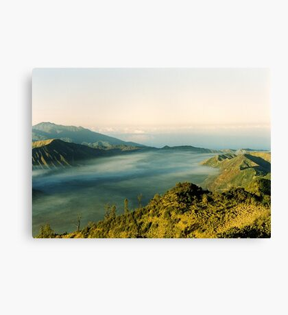 Tranquil traveling Canvas Print
