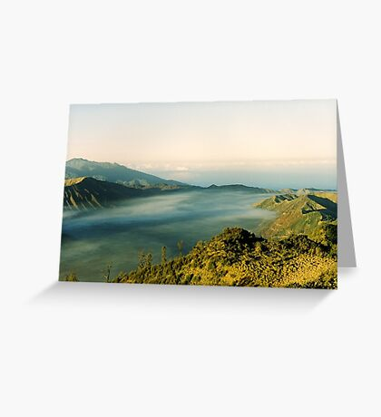 Tranquil traveling Greeting Card