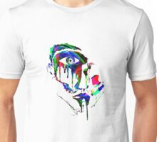 WATERCOLOR DRIPPING FACE Unisex T-Shirt
