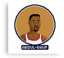 Mahmoud Abdul-Rauf - Denver Nuggets Canvas Print