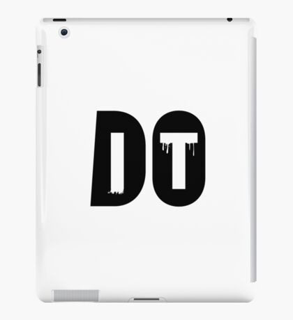 Do It iPad Case/Skin