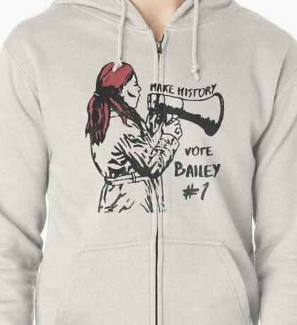 Make History, Vote Bailey Zipped Hoodie