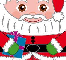 Santa Claus Hero Hugger by Renny Roccon