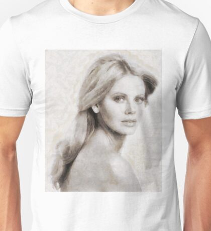 Brit Ekland, Actress Unisex T-Shirt