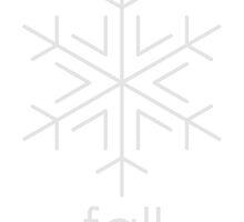 Snowflake Fall by Adam Wain