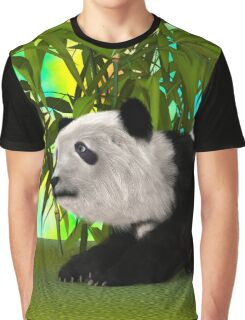 Panda Bear Graphic T-Shirt