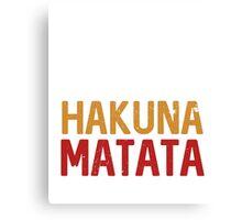Best Seller: Cupcakes Vodka & Hakuna Matata Canvas Print