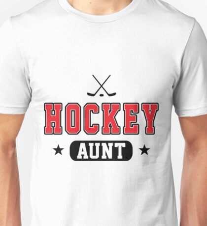 Hockey Aunt Funny Hockey Shirt Unisex T-Shirt