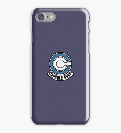 Caspsule Corp iPhone Case/Skin