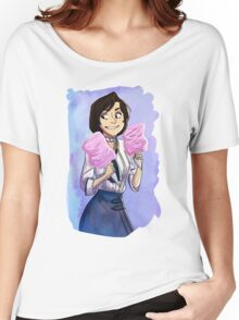 cartoon and cool elizabeth  Women's Relaxed Fit T-Shirt