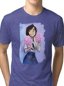 cartoon and cool elizabeth  Tri-blend T-Shirt