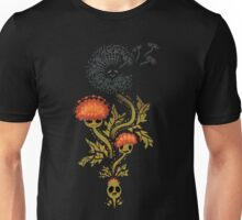 Dandelion In Rust Unisex T-Shirt