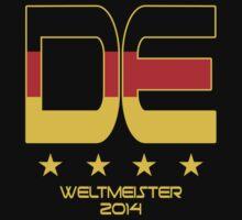 Deutschland - Weltmeister 2014 by JohnLucke