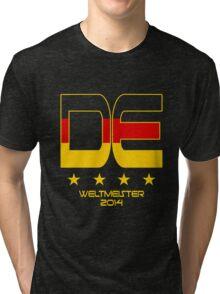 Deutschland - Weltmeister 2014 Tri-blend T-Shirt
