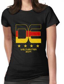 Deutschland - Weltmeister 2014 Womens Fitted T-Shirt