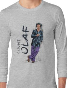 count olaf Long Sleeve T-Shirt