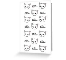 Cats and mice Greeting Card