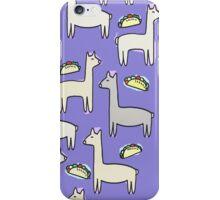Llama Taco iPhone Case/Skin