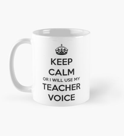 TEACHER GIFT IDEAS - Keep Calm Mug