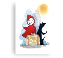 Red & Wolf in London Canvas Print