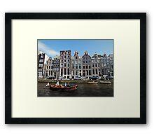 Amsterdam Canal III Framed Print