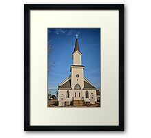 Clutier Community Church Framed Print