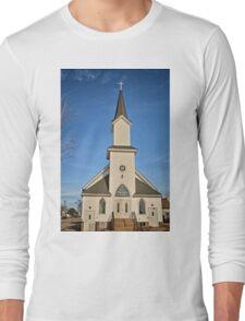 Clutier Community Church Long Sleeve T-Shirt