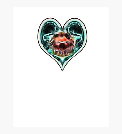 Heartbeat Sci Fi Photographic Print